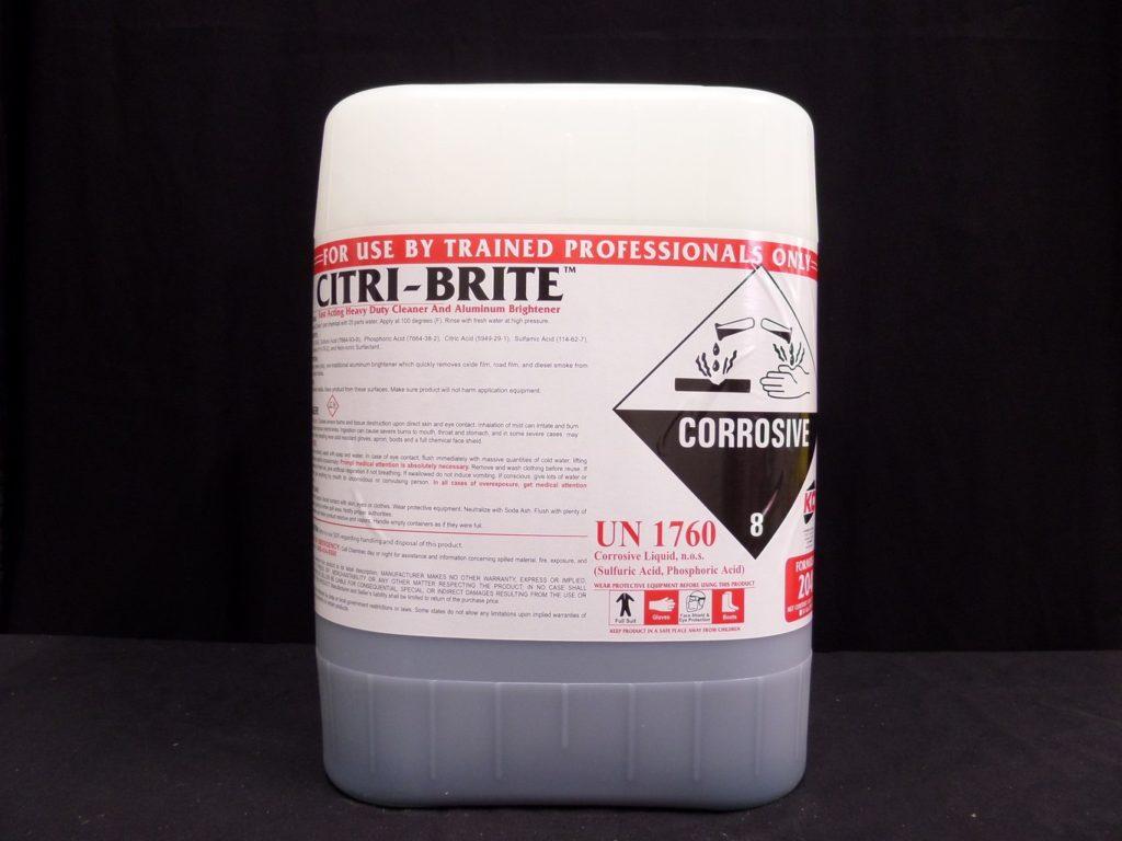 Citri Brite 204 Ko Manufacturing Aluminum Brighteners
