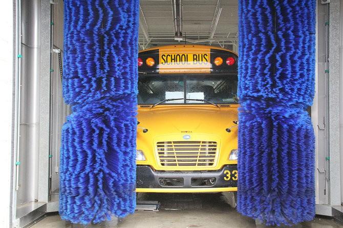 Bus Wash Equipment Transit School And Paratransit